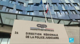 The Direction Régionale de la Police Judiciaire in Paris.