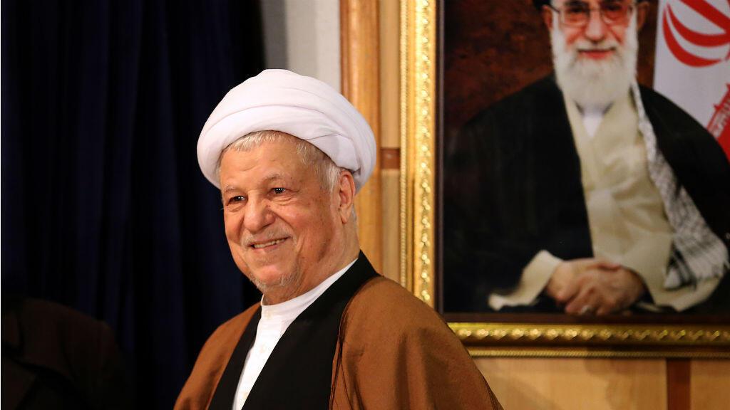 L'ayatollah Akbar Hachemi Rafsandjani, ancien président de la République islamique d'Iran et président du Conseil de discernement en décembre 2015.