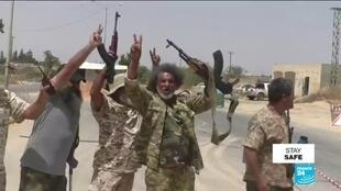 2020-06-05 12:09 Libya's unity government claims entering rival Haftar's Tarhuna stronghold