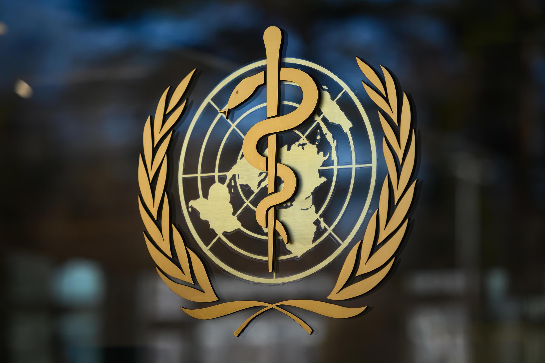 Imagen de archivo que muestra el logo de la Organización Mundial de la Salud.