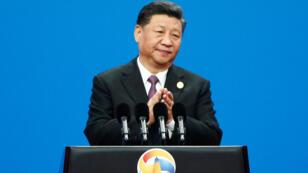 El presidente chino Xi Jinping inaugura el segundo foro sobre la Nueva Ruta de la Seda en Beijing, el 26 de abril de 2019.
