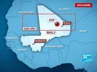 Map showing AQIM's desert sanctuary