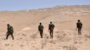 - قوات من الجيش السوري