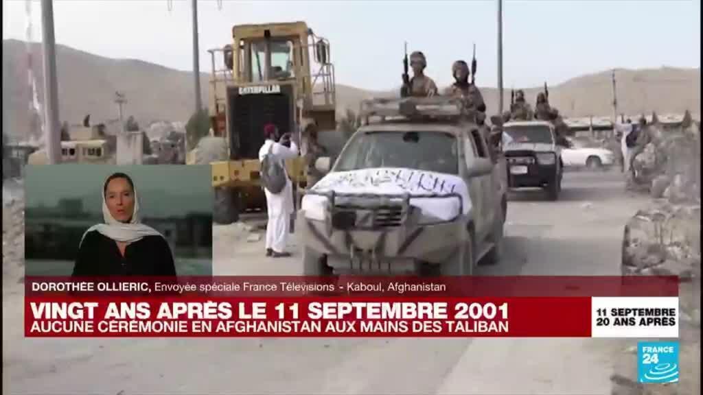 2021-09-11 18:07 Aucune cérémonie en Afghanistan pour les 20 ans du 11-Septembre