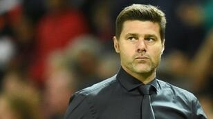Eyes on the prize: Tottenham manager Mauricio Pochettino is focusing on the Premier League title rather than the Manchester United job