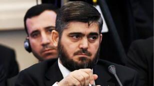 Mohammad Allouche, chef de la délégation des rebelles à Astana, photographié le 23 janvier 2017.