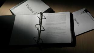 Le rapport Mueller, long de 448pages, a été rendu public jeudi 18avril.
