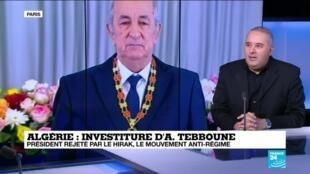 """2019-12-19 13:18 Algérie: """"Il est certain que nous ne reconnaissons pas ce président"""""""