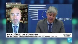 2020-04-10 08:01 Pandémie de Covid-19 : L'Eurogroupe tombe d'accord sur un plan de soutien