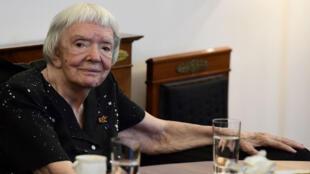 Lioudmila Alexeeva à Berlin, le 30 mai 2016.