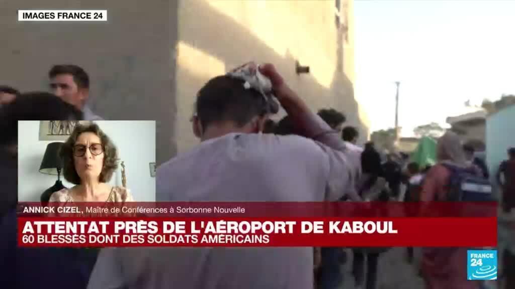 """2021-08-26 18:21 Attentat à Kaboul : """"La page du 11 septembre s'ouvre à nouveau"""""""