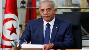 رئيس الحكومة التونسية المكلف الحبيب الجملي، 3 كانون الأول/ديسمبر 2019.