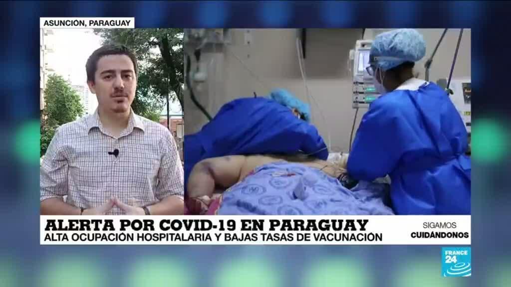 2021-03-30 13:37 Informe desde Asunción: falta de vacunas empeora la crisis sanitaria en Paraguay
