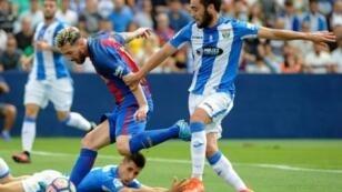 ليونيل ميسي سجل هدفين في مرمى ليغانيس في 17 أيلول/سبتمبر 2016