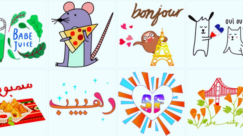 De nouveaux stickers font leur apparition sur l'appli et seront proposés en fonction de votre localisation dans dix grandes villes du monde.