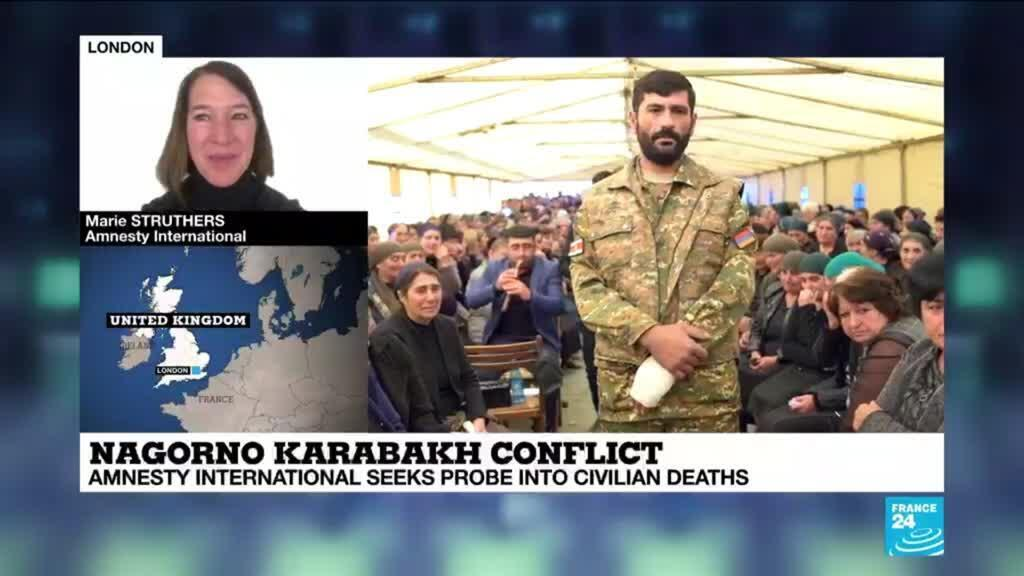 2021-01-14 16:06 Amnesty seeks probe into civilian deaths in Karabakh conflict
