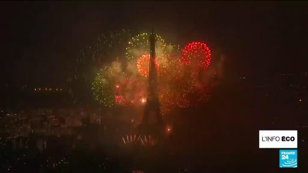 Feu d'artifice Tour Eiffel