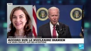 2021-02-11 11:04 Accord sur le nucléaire iranien : Joe Biden discret sur ses intentions