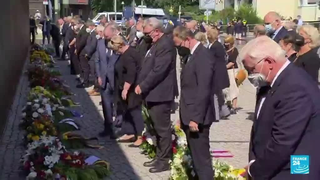 2021-08-14 01:07 Alemania marca el aniversario del inicio del Muro de Berlín conmemorando a las víctimas