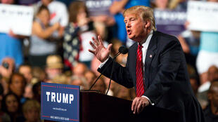 Donald Trump, lors d'un meeting à Phoenix, dans l'Arizona, le 11 juillet 2015.