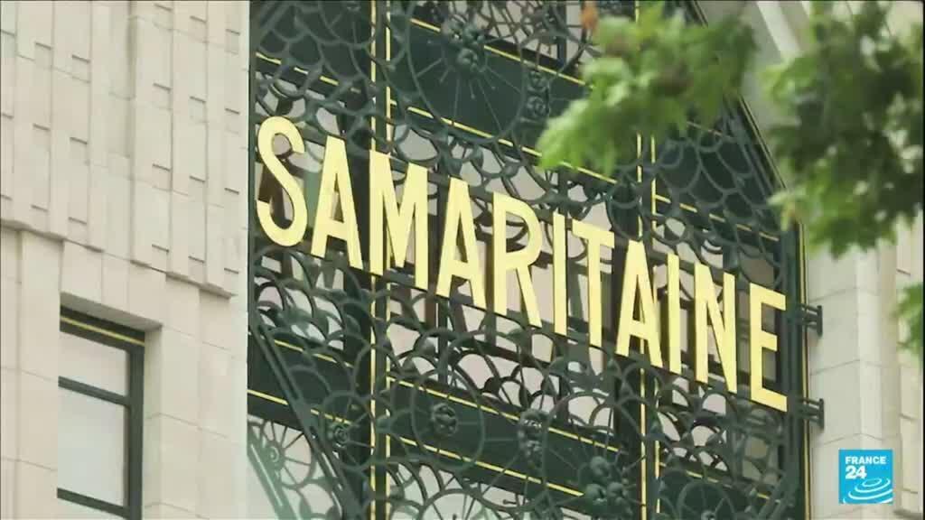 2021-06-23 18:20 France : la Samaritaine rouvre ses portes après seize ans de fermeture