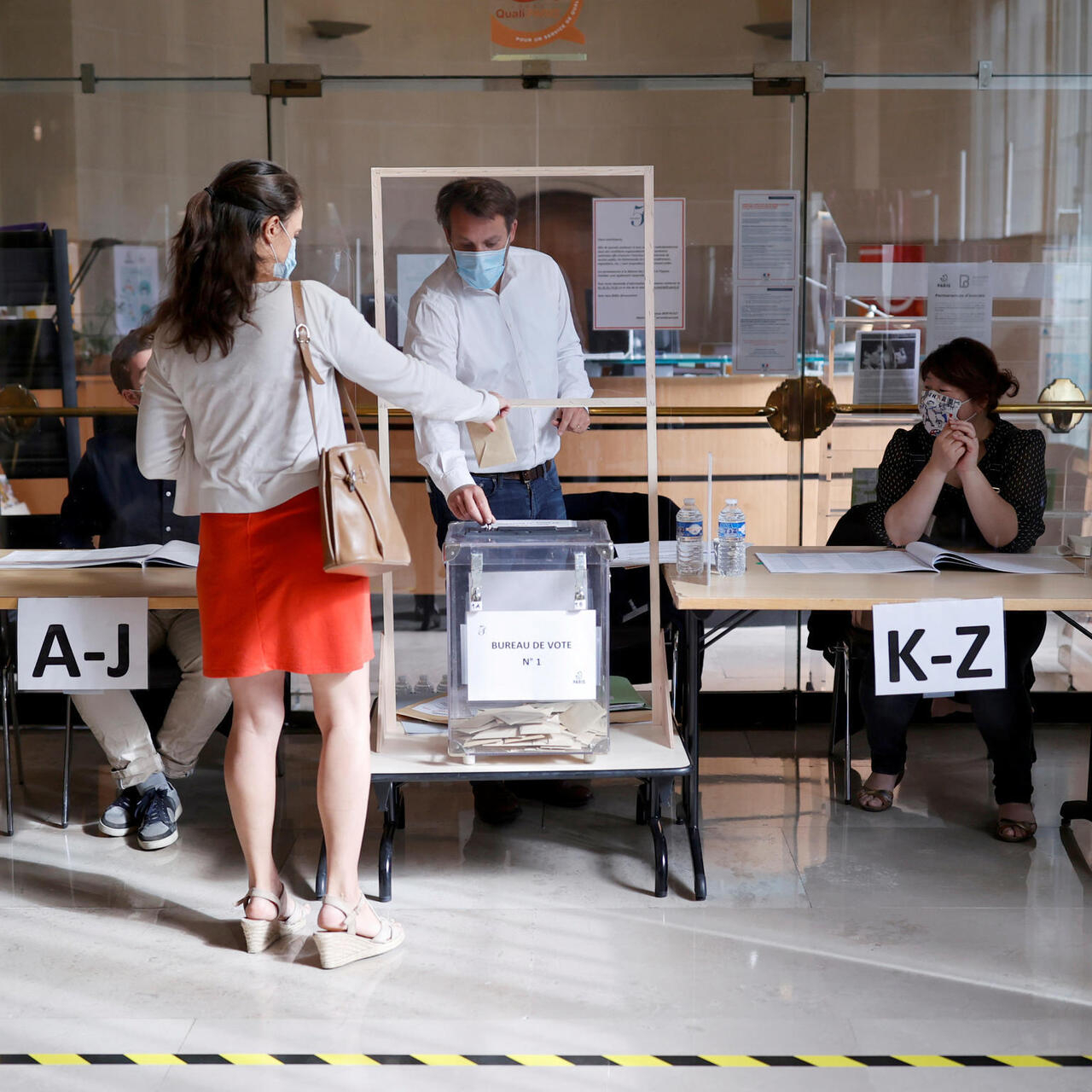 France Votes In Municipal Elections With Paris Mayoral Race In The Balance