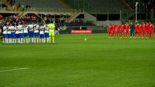 Jeudi 3 septembre, les sélections de Malte et de l'Italie ont observé une minute de silence pour honorer la mémoire des migrants.
