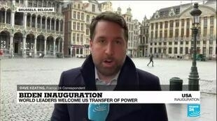 2021-01-20 13:11 EU, World leaders welcome US transfer of power on Biden's inauguration day as US President