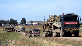 المسؤولون العراقيون يتحدثون عن وجود 150 جنديا تركيا في المنطقة مصحوبين بـ25 دبابة