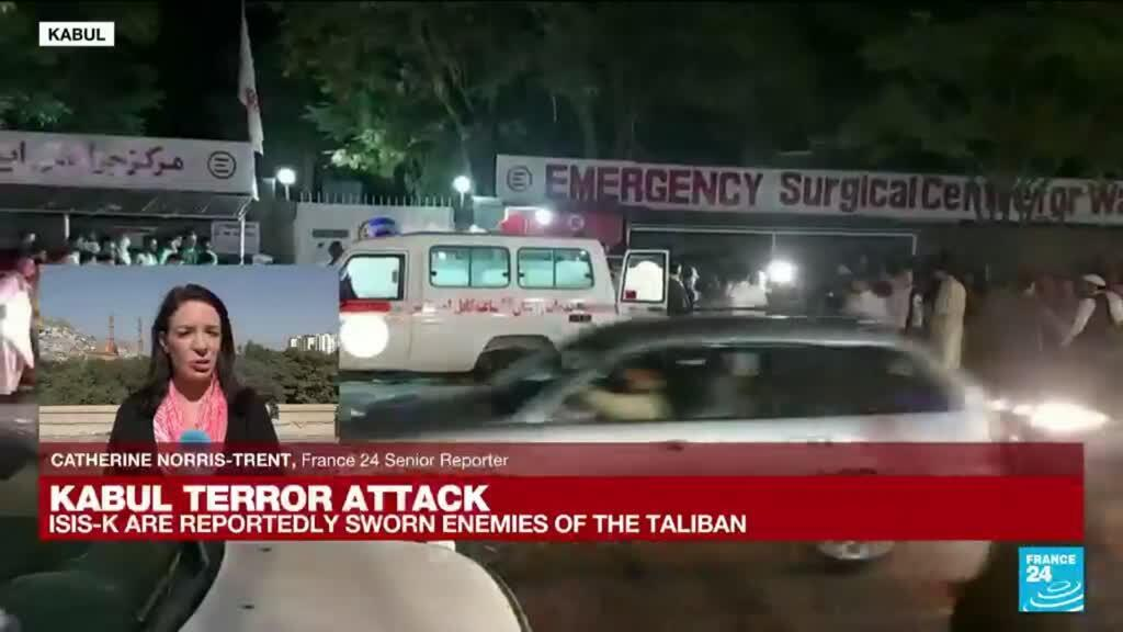 2021-08-27 06:31 'Kabul is still reeling from the deadly attacks of Thursday' - Catherine Norris-Trent reports from Kabul