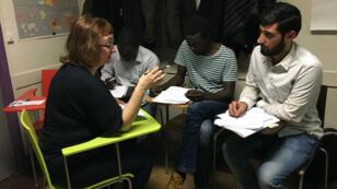 L'école Thot accueille des migrants et réfugiés n'ayant pas obtenu l'équivalent du baccalauréat dans leur pays.