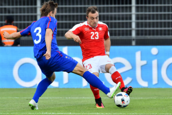 France will wrap up their group campaign against Xherdan Shaqiri's Switzerland on June 19 in Lille.