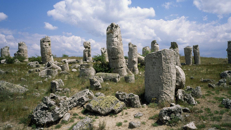 La Pobitite Kamani, site de formations rocheuses situé à quelques kilomètres de Varna, en Bulgarie.