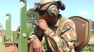 Un soldat français de la force Sangaris en Centrafrique.