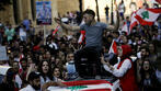 Protester killed as Lebanon's Aoun defends allies, sparking new demonstrations