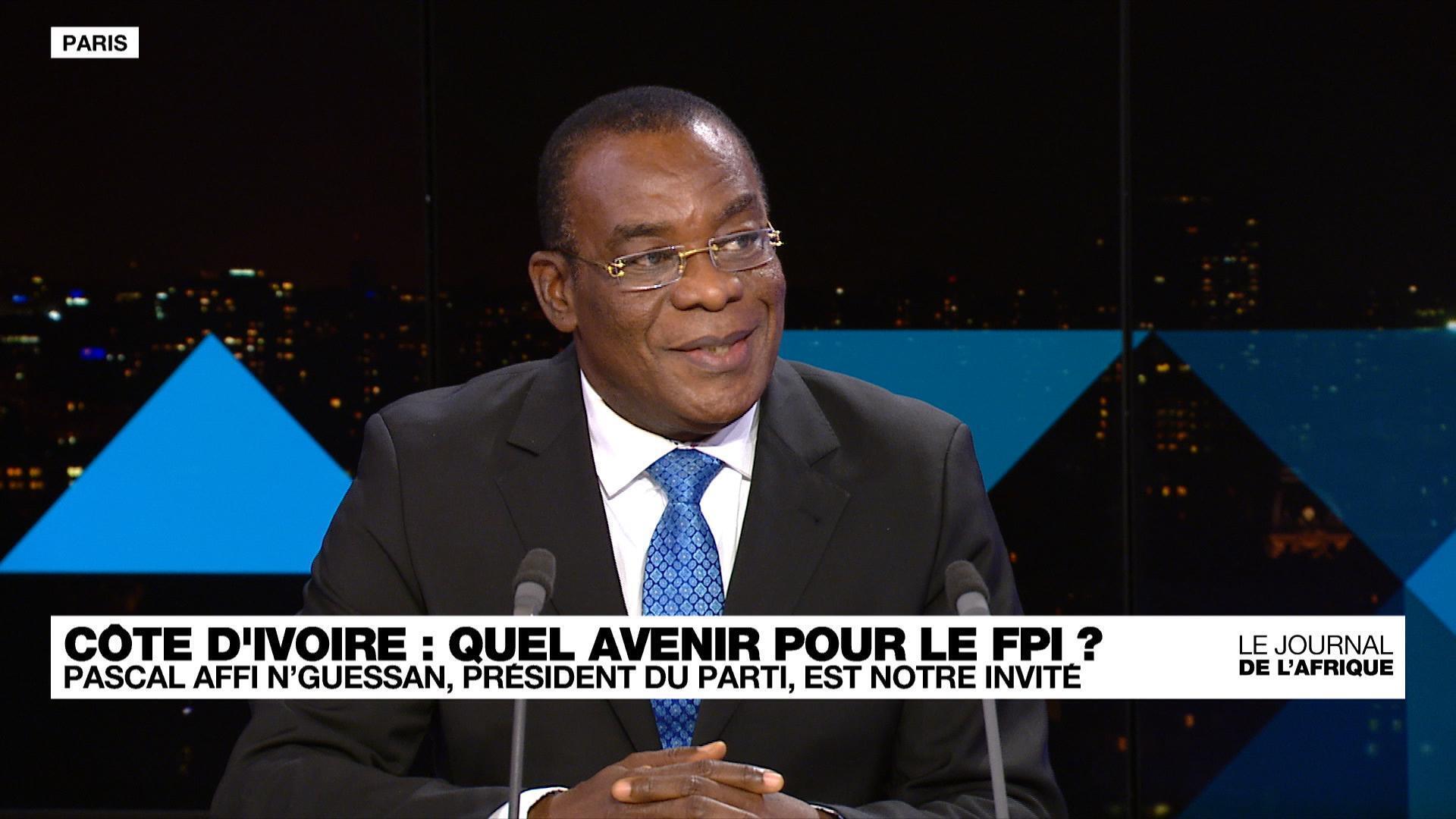 Pascal Affi N'Guessan dans le Journal de l'Afrique de France 24