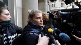 Émilie Lelouch lors du procès en appel, le 20 novembre 2013