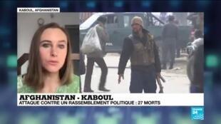 2020-03-06 12:04 Afghanistan : à Kaboul, des coups de feu lors d'un rassemblement politique font 27 morts