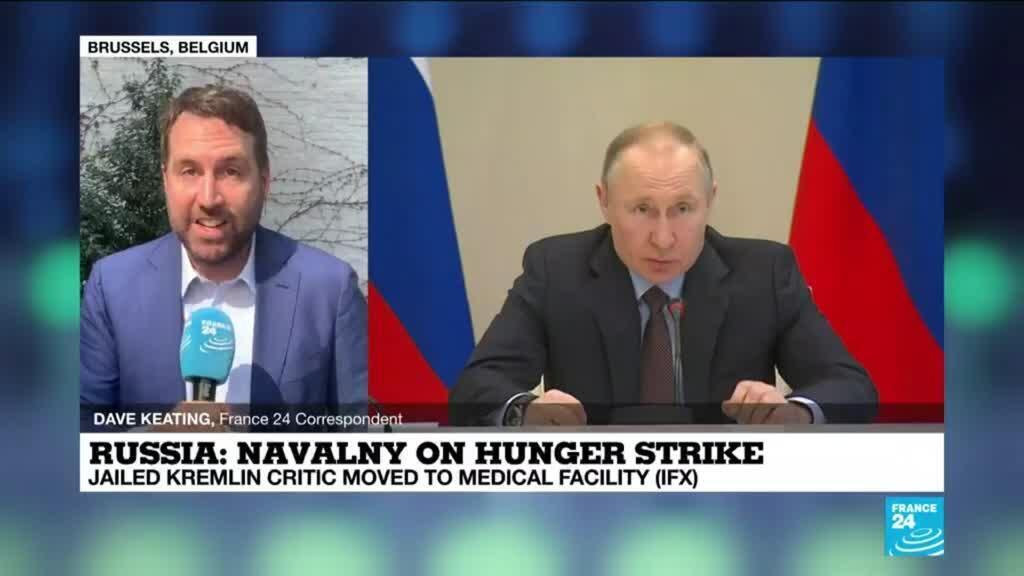 2021-04-19 12:02 EU foreign ministers talk amid uproar over Ukraine, Navalny