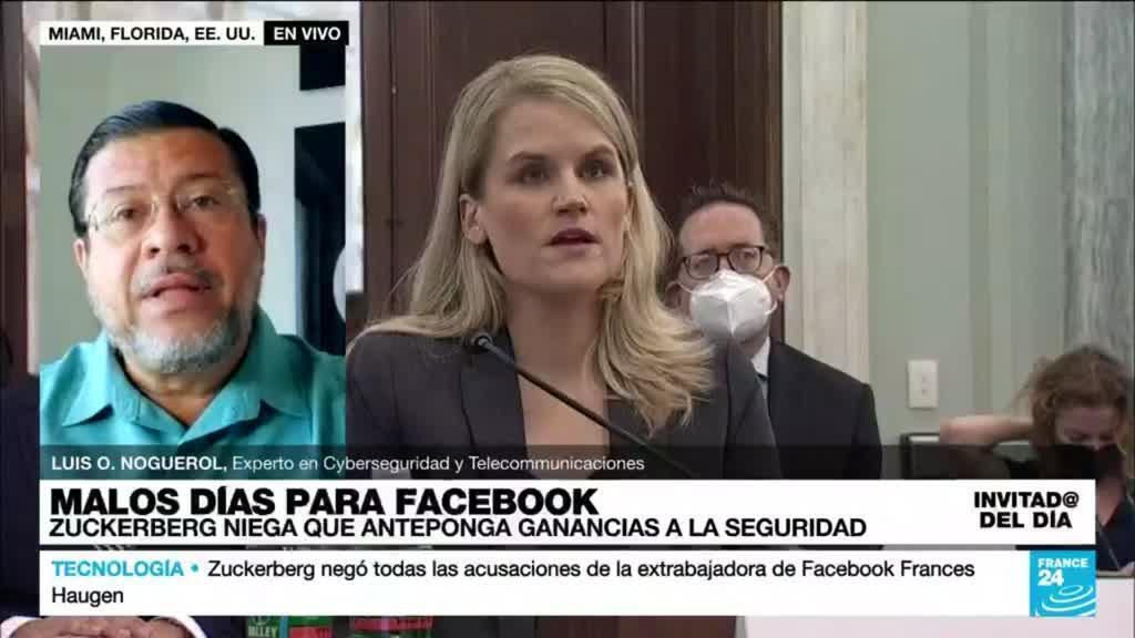 """2021-10-06 15:20 Luis O. Noguerol: """"Facebook y muchas otras compañías no están siguiendo la ley"""""""