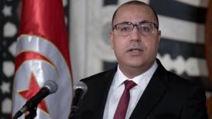 رئيس  الحكومة التونسية هشام المشيشي.