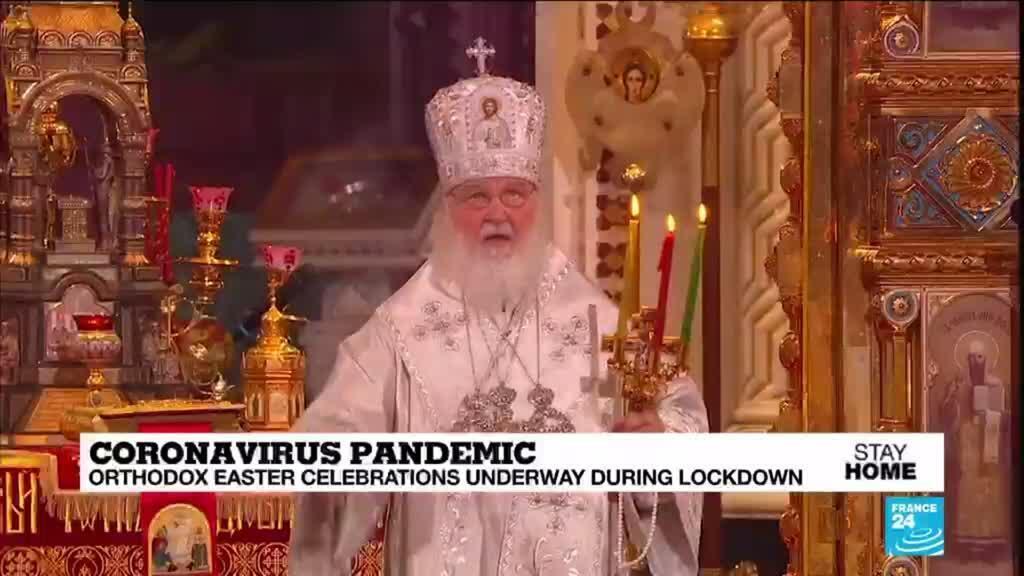 2020-04-19 08:10 Easter in Ukraine: Churches under fire for violating coronavirus lockdown