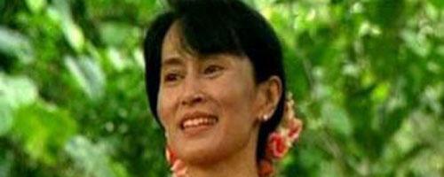 زعيمة المعارضة البورمية اونغ سان سو تشي
