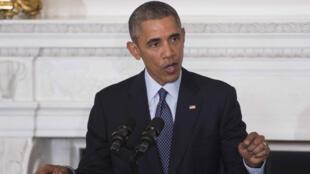 Le président Barack Obama, le 23 février à Washington.