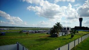 Archivo-Vista del aeropuerto internacional José Martí, La Habana, Cuba, 25 de septiembre de 2019.