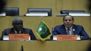 السيسي يرأس قمة الاتحاد الإفريقي