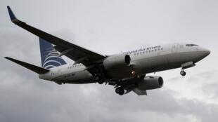 Un avión de Copa Airlines antes de aterrizar en el Aeropuerto Internacional de Tocumen en la Ciudad de Panamá, Panamá, el 12 de abril de 2018.