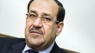 رئيس الحكومة العراقية السابق نوري المالكي