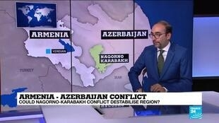 2020-09-28 11:03 Armenia - Azerbaijan territorial dispute: Could Nagorno-Karabakh conflict destabilise region ?