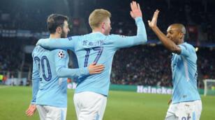 Manchester City a surclassé le FC Bâle et entrevoit les quarts.